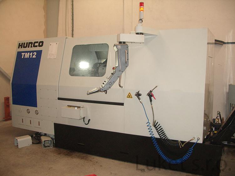CNC Drehcentrum Hurco TM 12