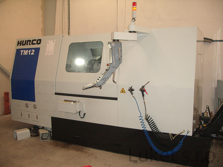 CNC turning center Hurco TM 12