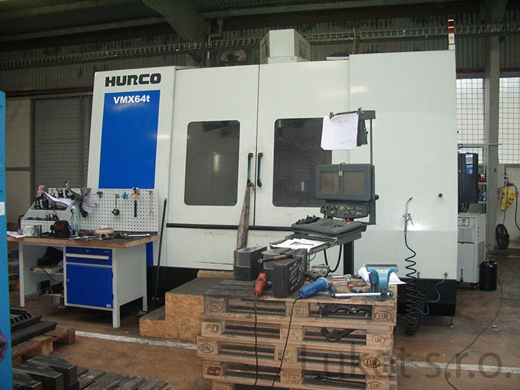 CNC vertikální frézovací centrum Hurco VMX 64 t