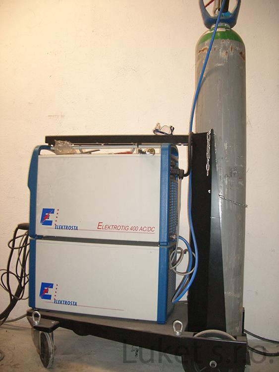 svařovací stroj ELEKTROTIG 400 AC/DC